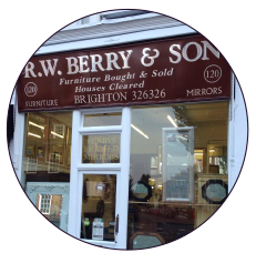 The Berry and Son shop at Seven Dials, Brighton